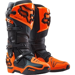 2 roues méloises : FOX INSTINCT BOOT BLACK ORANGE