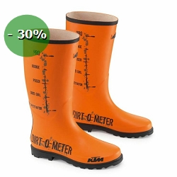 2 roues méloises : DIRTOMETER RUBBER BOOT