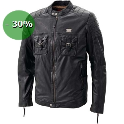2 roues méloises : PEERLESS LEATHER JACKET