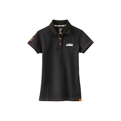 2 roues méloises : GIRLS RACING POLO BLACK