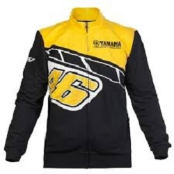 2 roues méloises : SWEAT  YAMAHA JAUNE SWEAT  YAM
